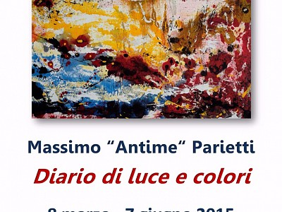 """DIARIO DI LUCE E COLORI MASSIMO """"ANTIME"""" PARIETTI"""